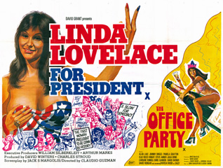 Linda Lovelace for President 1975 Quad