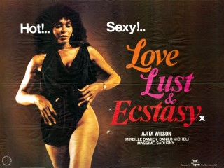 Love Lust and Ecstasy 1980 Quad Poster