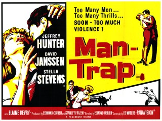 Man-Trap 1961 Quad British Poster