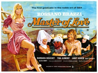 Master of Love 1972 Quad Poster