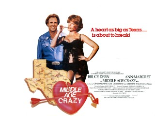 Middle Age Crazy 1980 Quad Poster