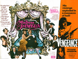 Mistress Pamela 1974 Quad UK Poster