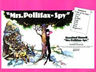 Mrs Pollifax - Spy 1971 Quad British Poster