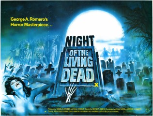 Night of The Living Dead 1976 re-release Tom Chantrell art