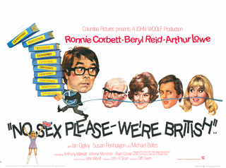 No Sex Please Were British 1973 Quad UKPoster