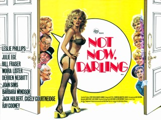 Not Now Darling 1973 Quad Poster