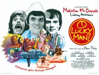 O Lucky Man Phillip Castle Quad Poster