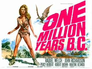 One Million Years BC 1966 Quad Poster