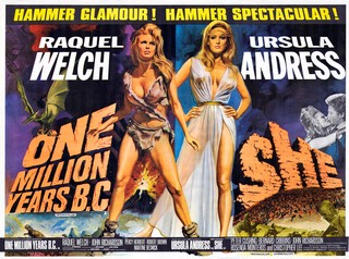 One Million years BC - She Quad Poster