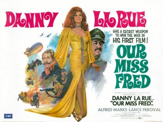 Our Miss Fred 1972 Quad Poster