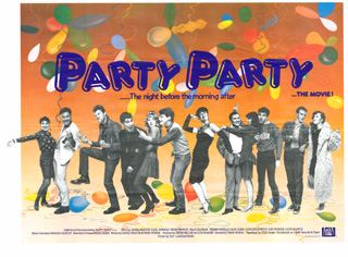 Party Party 2003 Quad Poster