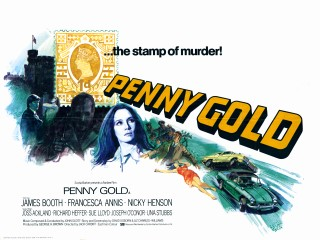 Penny Gold 1973 Quad British Poster