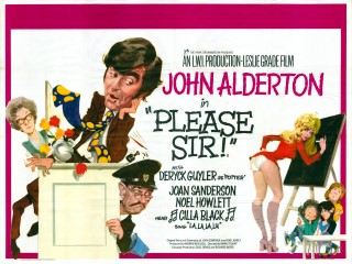 Please Sir 1971 Quad Poster