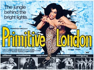 Primitive London 1965 UK Quad Poster