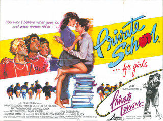Private School 1983 Quad UK Poster