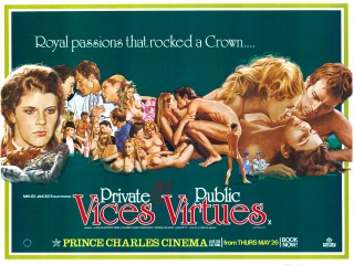 Private Vices and Public Virtues 1976 Quad Italy Vizi privati, pubbliche virt�