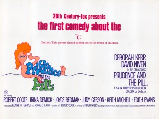 Prudence and the Pill 1968 Quad Poster