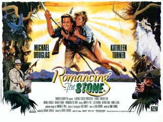 Romancing the Stone 1984 Quad Poster