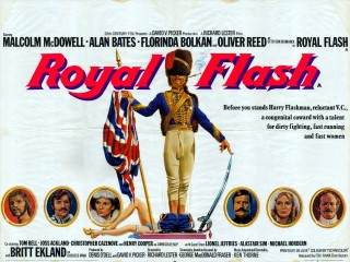 Royal Flash 1975  Quad Poster
