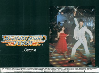 Saturday Night Fever 1977 Quad Poster
