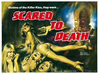 Scared to Death 1981 Quad Poster