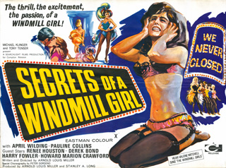 Secrets of a Windmill Girl 1966 Quad Poster