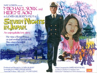 Seven Nights in Japan 1977 Quad UK Poster