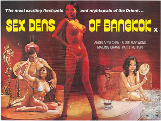 Sex Dens Of Bangkok 1976 Quad Attributed Sam Peffer