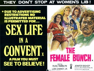Sex Life In A Convent 1972 The Female Bunch 1969 Poster