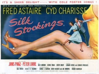 Silk Stockings 1957 Quad British poster
