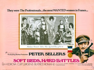 Soft Beds, Hard Battles 1974 Quad Poster