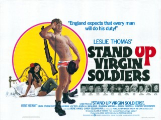 Stand Up Virgin Soldiers 1977 Quad Poster