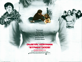 Straw Dogs 1971 Quad UK Poster