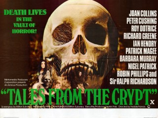 tales From The Crypt 1972 Quad Poster