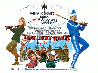 That Lucky Touch 1975 Quad Poster