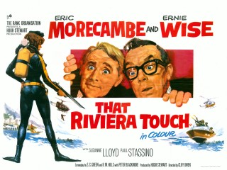 That Riviera Touch 1966 Quad Poster