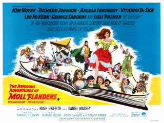 The Amorous Adventures of Moll Flanders 1965 British Poster