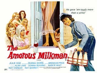 The Amorous Milkman 1974 Quad Poster