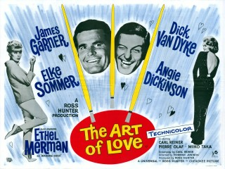 The Art of Love 1965 Quad Poster