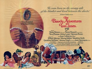 The Bawdy Adventures of Tom Jones 1976 Quad Poster