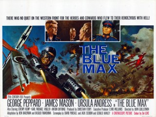 The Blue Max Quad poster