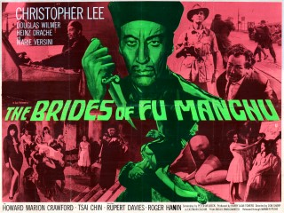 The Brides of Fu Manchu 1967 British Quad Poster