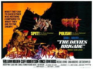 The Devil's Brigade 1968 Quad Poster