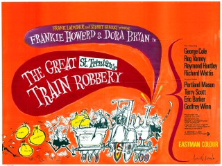 The Great St Trinians Train Robbery 1966 Quad Poster