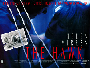 The Hawk 1993 Quad Uk Poster