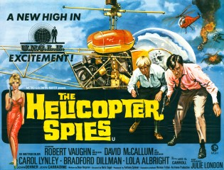 The Helicopter Spies UK Poster 1968