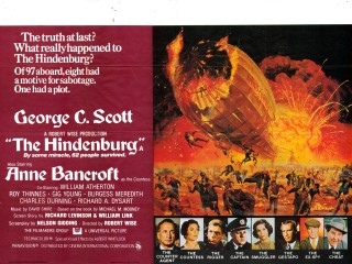 The Hindenburg 1975 Quad poster