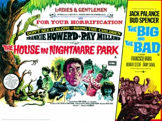 The House In Nightmare Park 1973 Quad Poster