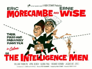 The Intelligence Men 1965 Quad