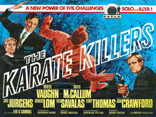 The Karate Killers 1967 Quad British Poster